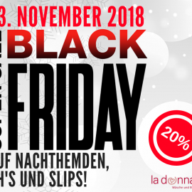 Black Friday bei LaDonna